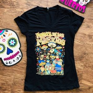 DAY OF THE DEAD GRAPHIC TEE SHIRT 🌟NEW🌟
